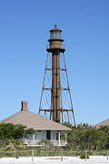 Architeture Prints - Sanibel Island Light Print by Christiane Schulze