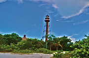 Florida Bridges Prints - Sanibel Island Lighthouse Print by Timothy Lowry