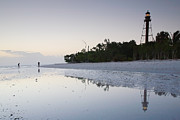 Florida House Prints - Sanibel Lighthouse II Print by Steven Ainsworth
