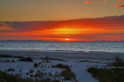 Gulf Of Mexico Photos - Sanibel Sunrise XXIII by Steven Ainsworth