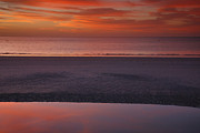 Sanibel Island Prints - Sanibel Sunset I Print by Steven Ainsworth