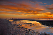 Gulf Of Mexico Photos - Sanibel Sunset III by Steven Ainsworth