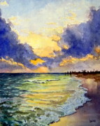 Sanibel Sunset Print by Todd Derr