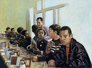 African American Male Painting Posters - Sanitised Menus Poster by Colin Bootman