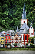 Wine Tour Originals - Sankt Goar On The Rhine by Ken Johnson