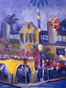 Santa Claus Paintings - Santa at the Mission Inn by Terry  Chacon