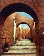 Granite Arches Framed Prints - Santa Catalina Framed Print by Jane Whiting Chrzanoska