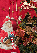 Santa Claus Originals - Santa Claus and Christmas gift by Sviatlana Kandybovich