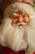 Santa Claus Prints - Santa Claus - Antique Ornament - 14 Print by Jill Reger