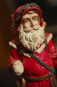 Santa Claus Photo Posters - Santa Claus - Antique Ornament - 21 Poster by Jill Reger