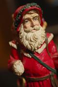 Santa Claus - Antique Ornament - 21 Print by Jill Reger