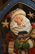 Santa Claus - Antique Ornament - 27 Print by Jill Reger