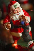 Santa Claus - Antique Ornament - 33 Print by Jill Reger