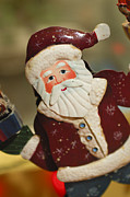 Antique Ornament Photos - Santa Claus - Antique Ornament - 34 by Jill Reger