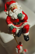 Antique Ornament Photos - Santa Claus - Antique Ornament - 35 by Jill Reger