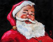 Santa Claus Print by Carole Foret