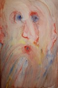 Response Paintings - Santa Claus by Hilde Widerberg