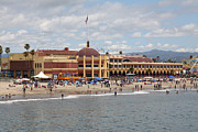 Roller Coaster Photos - Santa Cruz Beach Boardwalk California 5D23784 by Wingsdomain Art and Photography