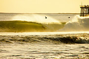 Santa Cruz Surfing Metal Prints - Santa Cruz Surfers Dream Metal Print by Paul Topp
