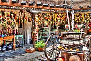 Santa Fe Colors Print by Bob Hislop