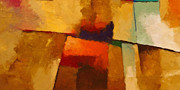 Abstract Impression Paintings - Santa Fe by Lutz Baar