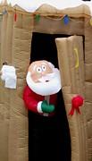 Gail Matthews - Santa in the outhouse