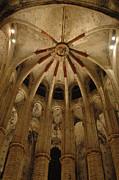 Santa Maria Del Mar Basilica Iv Print by Kathy Schumann