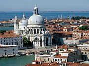 Basillica Framed Prints - Santa Maria della Salute Venice  Framed Print by Jennie Breeze