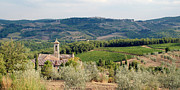 Tuscany Prints - Santa Maria Novella priory Tuscany Print by Mathew Lodge