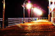 Eric Benjamin - Santa Monica Pier at Night