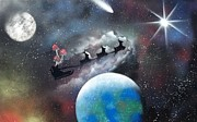 Saint Nick Originals - Santa over the world  by Thomas Roteman