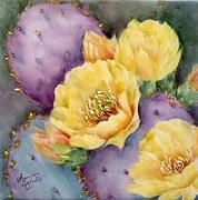 Santa Rita In Bloom Print by Summer Celeste