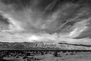 Dry Lake Photos - Santa Rosa Mountains by Peter Tellone