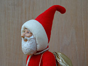 Painted Sculpture Sculptures - Santa Sr. - In The Spirit by David Wiles