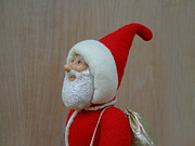 Painted Sculpture Sculptures - Santa Sr. - Keeping The Faith by David Wiles