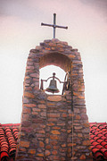 Southern California Prints - Santa Ysabel Mission Bell Tower Print by Scott Campbell