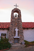 Southern California Prints - Santa Ysabel Mission St Francis Chapel Bell Tower Print by Scott Campbell