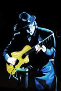 Music Photo Originals - Santana by Nancy Bradley