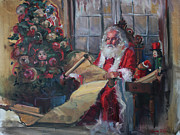 Santa Claus Originals - Santas List by Amber Wanielista