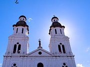 Joseph Photos - Santo Domingo Church in Cuenca Ecuador by Al Bourassa