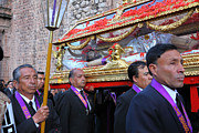 Crucified Photos - Santo Sepulcro Procession by James Brunker