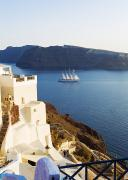 Santorini, Greece II Print by Quincy Dein