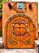 Emotionally Prints - Santuario Sacred Passage Doors By JFantasma Photography Print by JFantasma Photography