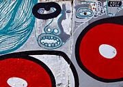 Sao Paulo Graffiti I Print by Julie Niemela