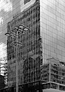 Sao Paulo Framed Prints - Sao Paulo Mirrored Building I Framed Print by Julie Niemela