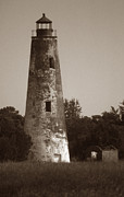Scenic Pictures Posters - Sapelo Island Lighthouse Poster by Skip Willits