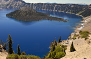 David Millenheft - Sapphire Blue Crater Lake