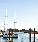 Harwich Prints - Saquatucket River Harwich Port Cape Cod Print by Michelle Wiarda