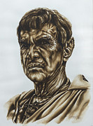 Enterprise Painting Originals - Sarek star trek by Giulia Riva