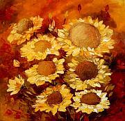 Sarutul Soarelui Print by Elena Bissinger
